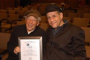 Reuven Moskovitz mit Gast Anis Hamadeh